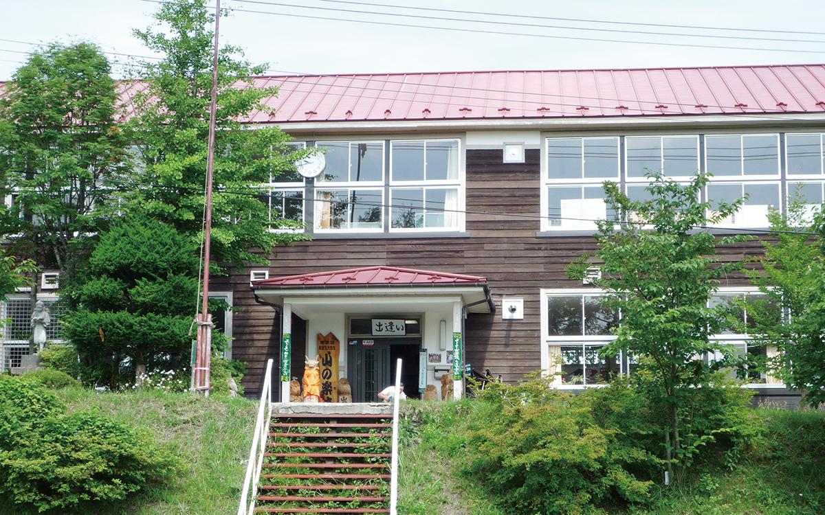 山の楽校 校舎