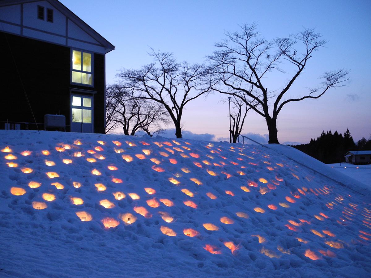 第13回 南郷雪蛍まつり -みんなで創ろう光のページェント